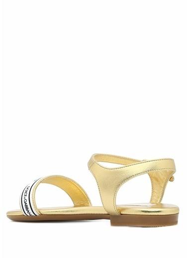 Beymen Kids Sandalet Altın